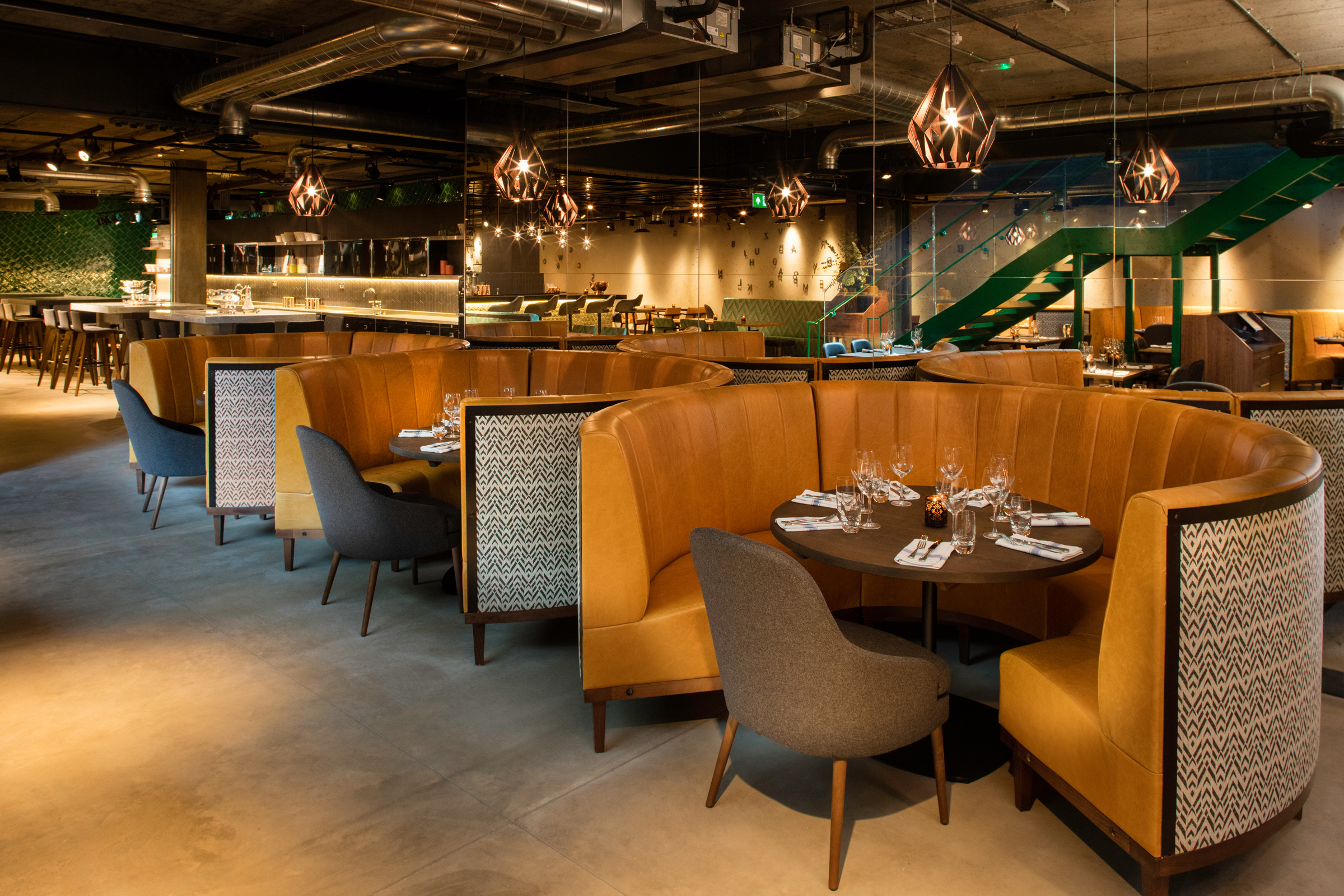 Drake Amp Morgan At Kings Cross Bespoke Restaurant Seating