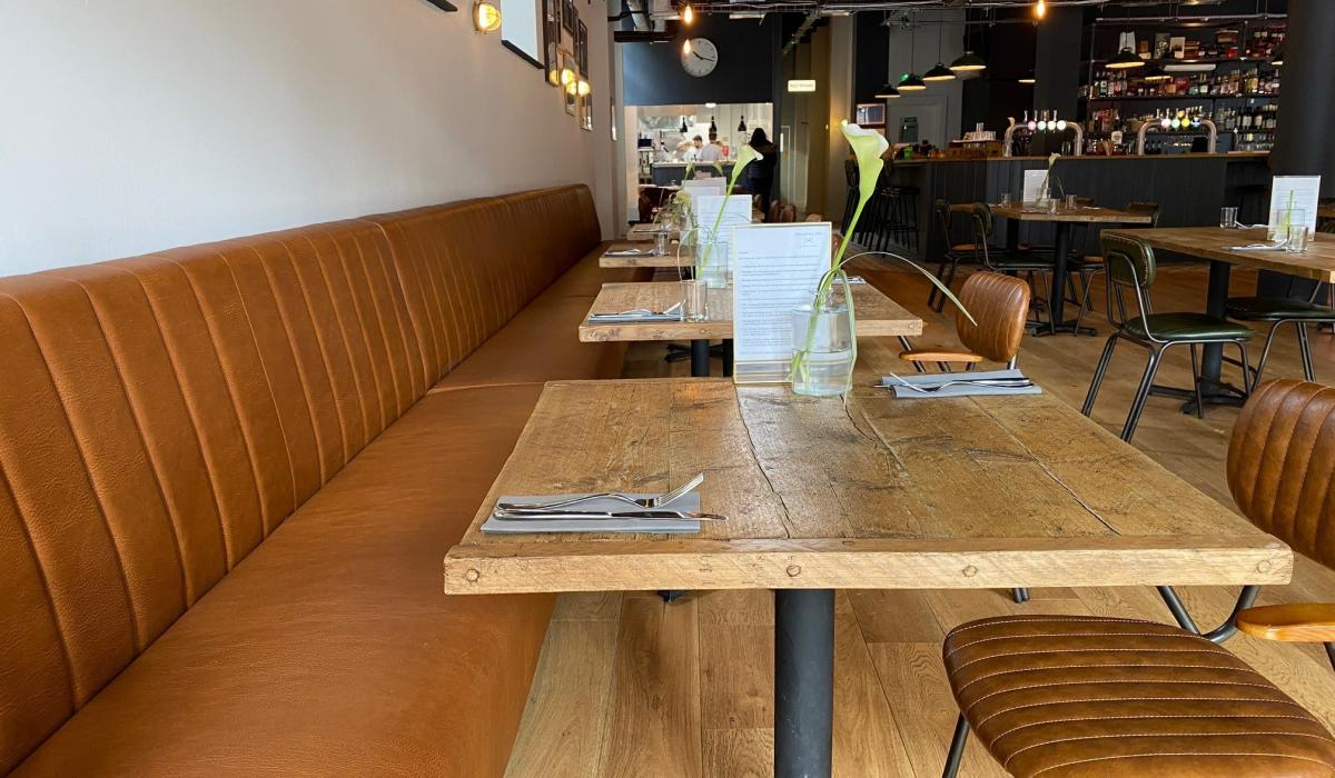Orpington GPO Leather Banquette Seating | Craftwood