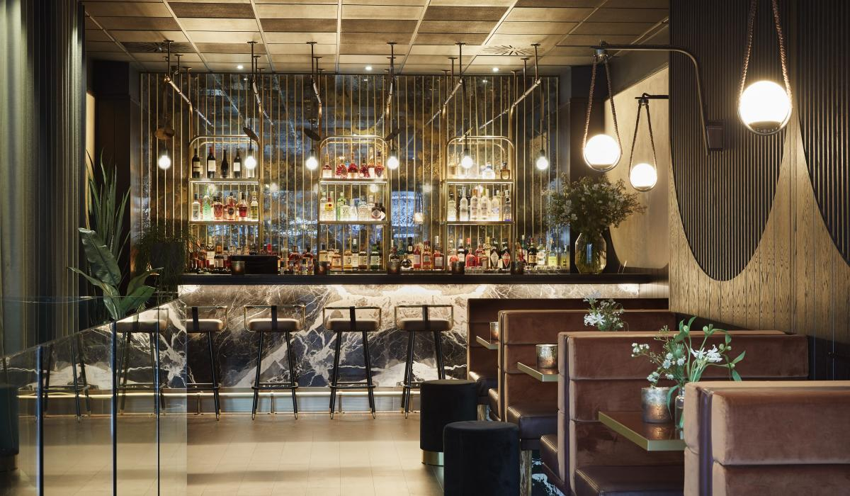 Intimate Bar Booth Seating | Gaucho| Craftwood Interiors